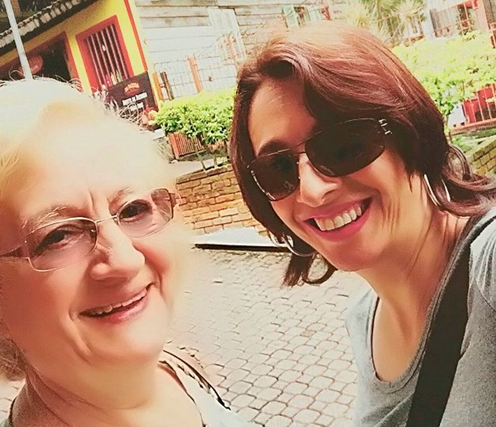 Catia e Dona Marli