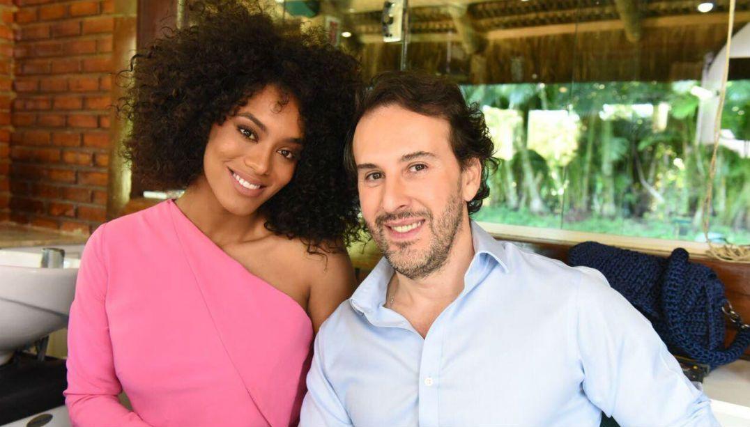 Raissa Santana e Marcos Proença julgam make e cabelo das candidatas