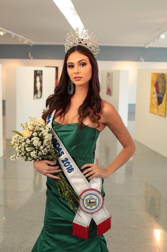 Isabella Burgui é a Miss Alagoas 2018 / Divulgação