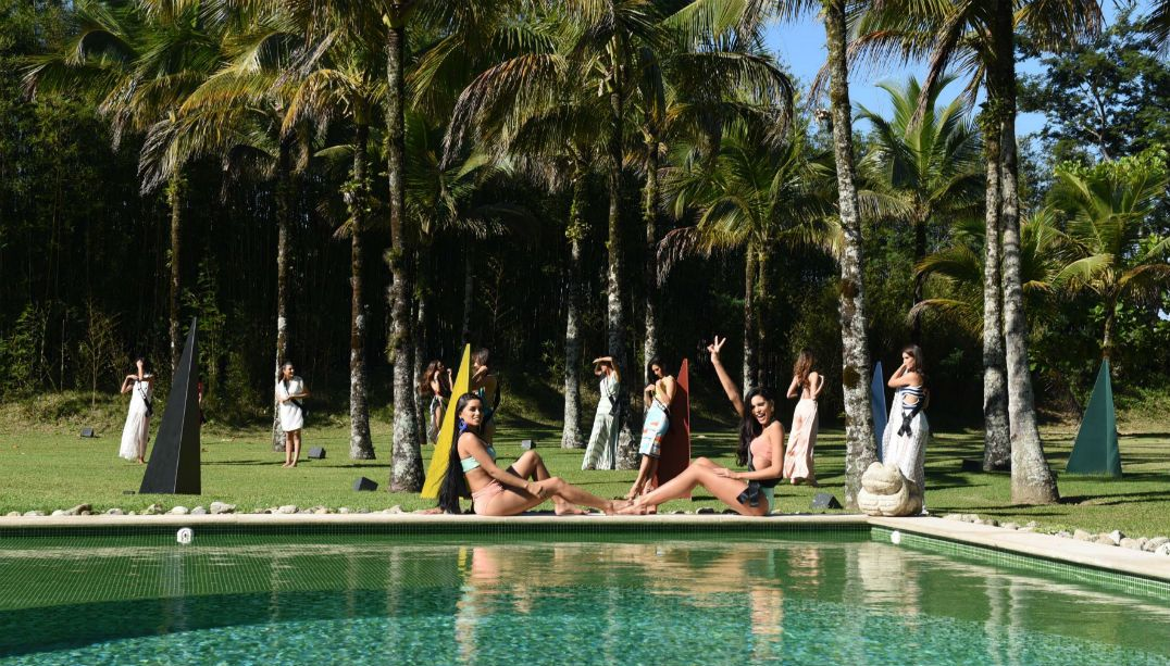 Candidatas estaduais gravam abertura do Miss Brasil 2018