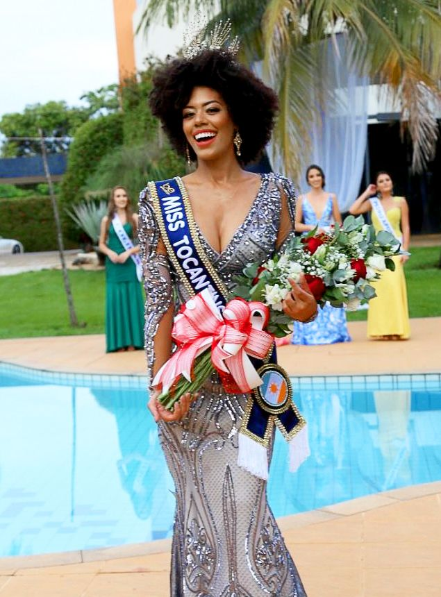 Tatiele Rodrigues é a Miss Tocantins 2018