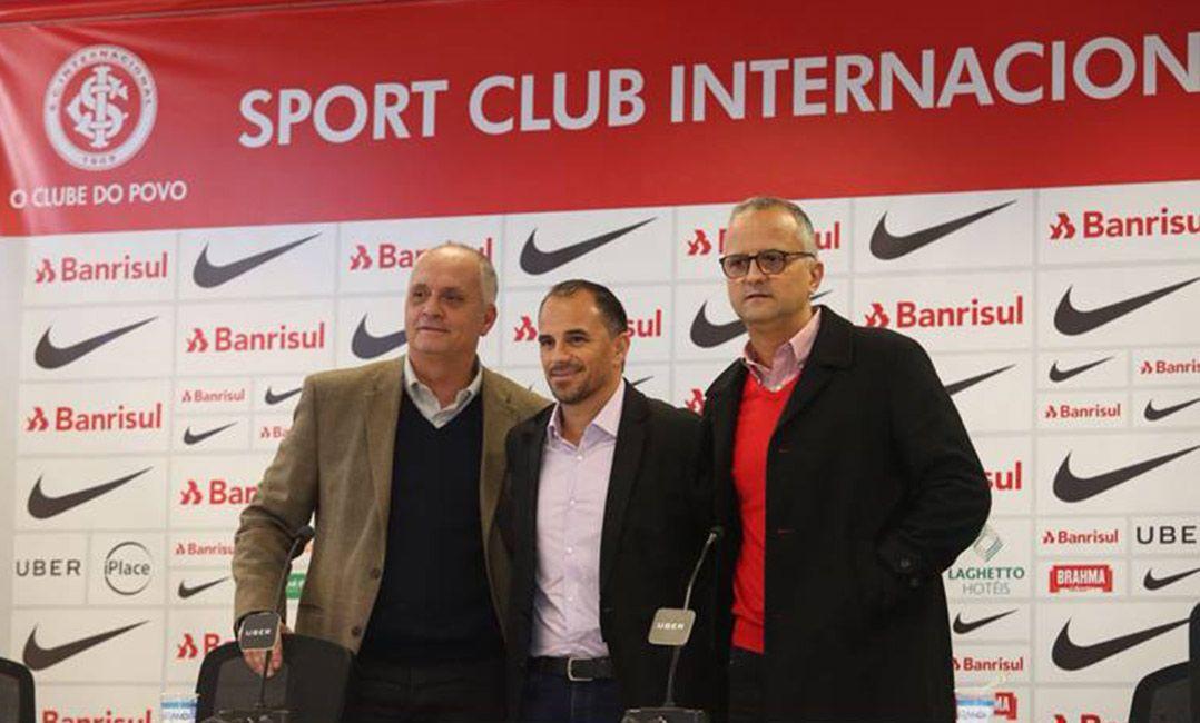 Rodrigo Caetano diz que Inter precisa recuperar autoestima