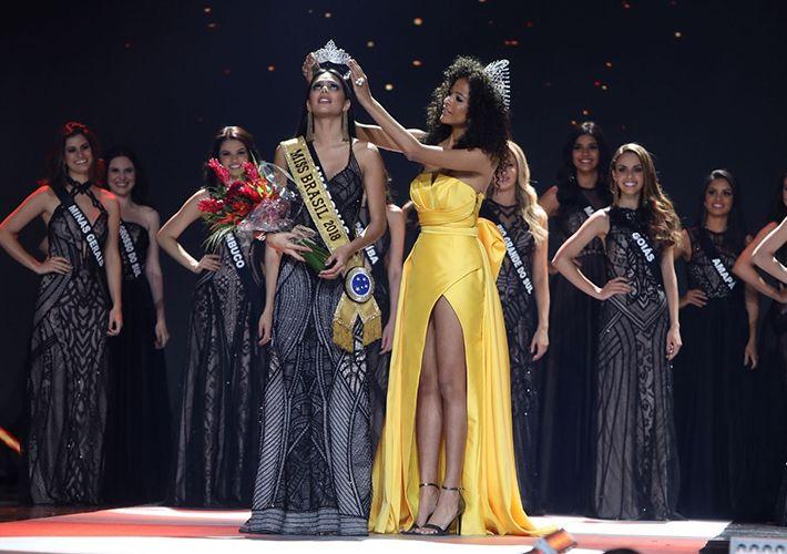 Candidata do Amazonas desbanca 26 concorrentes e é eleita Miss Brasil