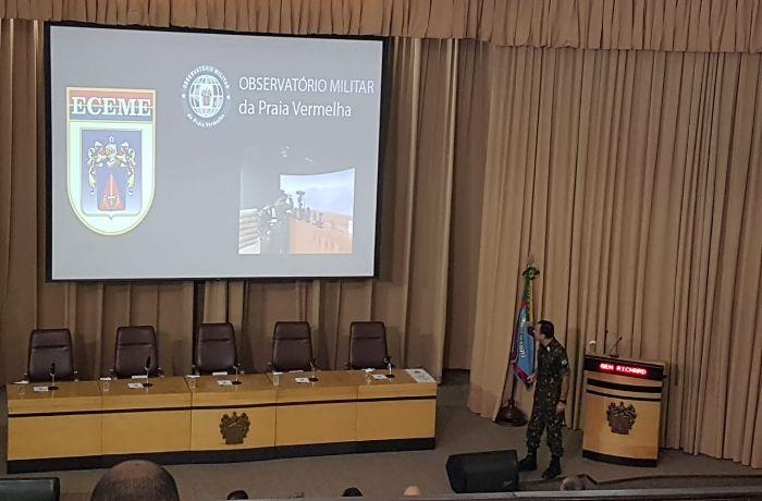 Evento marca 100 dias de intervenção no Rio de Janeiro