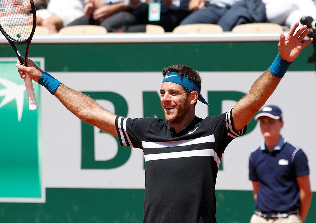 Del Potro derrota Cilic e encara Nadal na semifinal