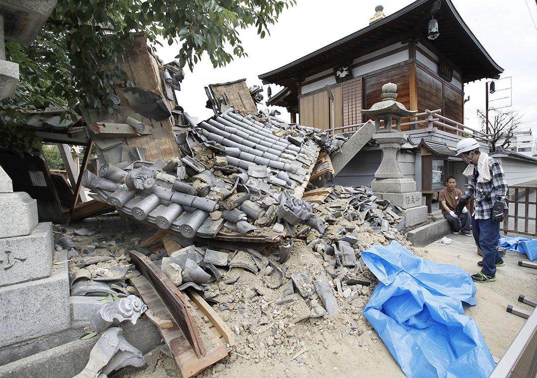 Terremoto de magnitude 6,1 deixa três mortos no Japão