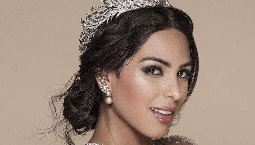 Mayra Dias aparece deslumbrante em ensaio oficial para o Miss Universo