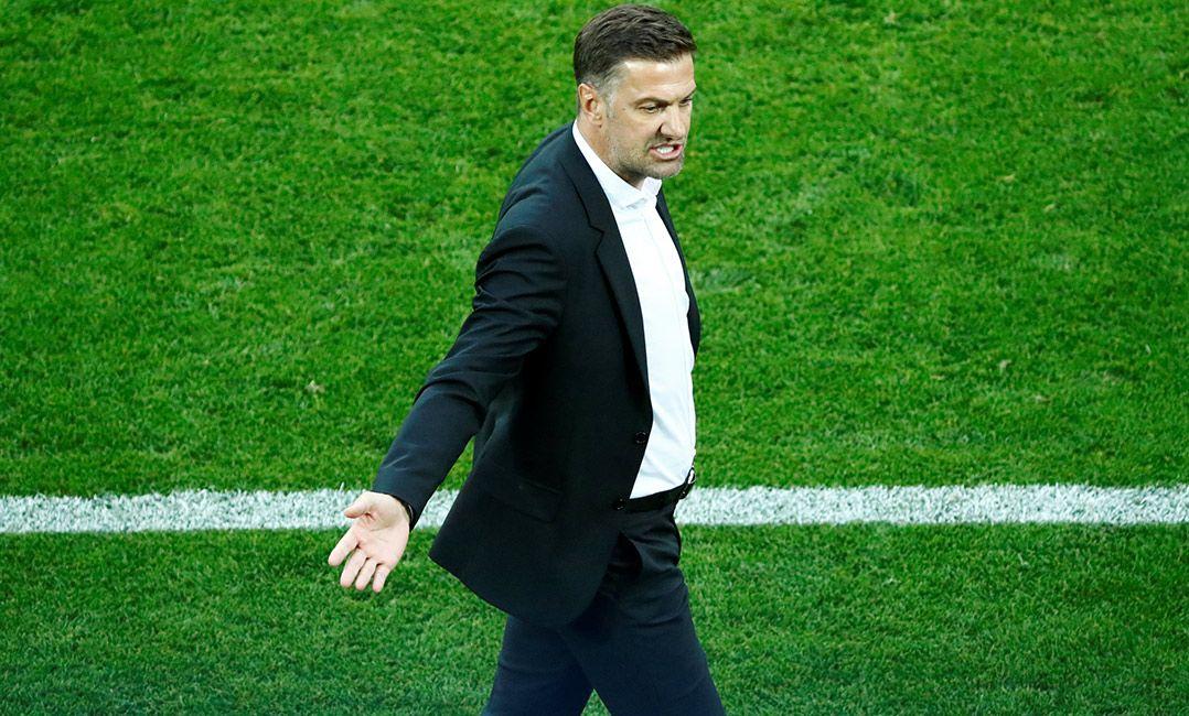 Preocupado, técnico da Sérvia promete empenho contra Seleção