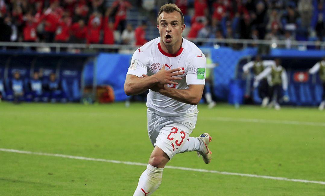 Suíça minimiza possível punição da Fifa por gestos de jogadores