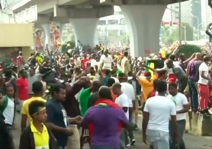 Ataque com granada em comício na Etiópia deixa um morto e 150 feridos