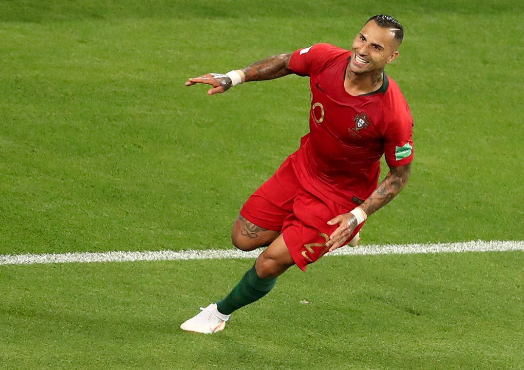 Quaresma comemora gol de Portugal contra o Irã   Lucy Nicholson Reuters 3904b68d79da0