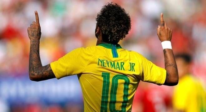 Neymar na Copa do Mundo / Reuters / Leonhard Foeger