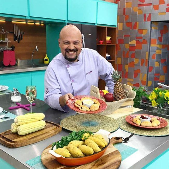 Chef Jurandyr Affonso no Melhor da Tarde / Divulgação / Band