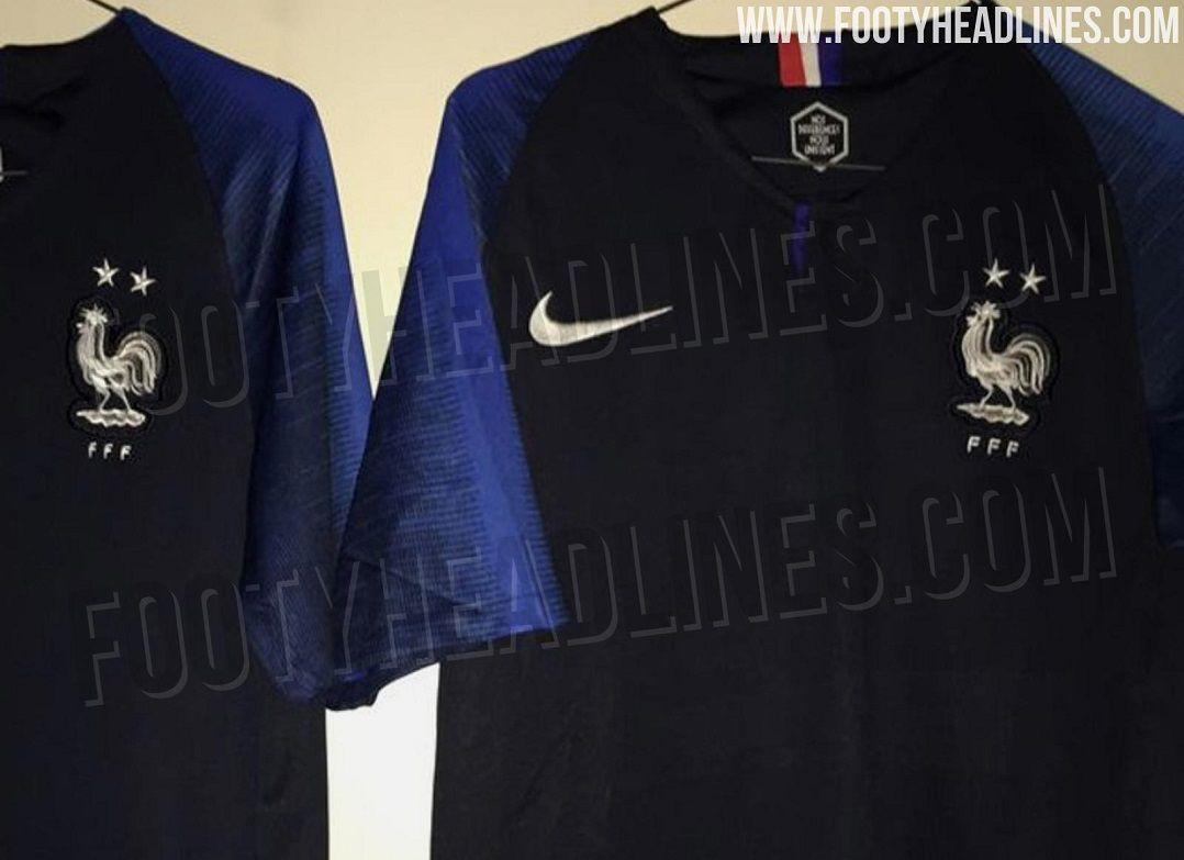 e4b0fed9d Estrelas nas camisas representam os títulos mundiais (Foto  Reprodução   Footy Headlines)