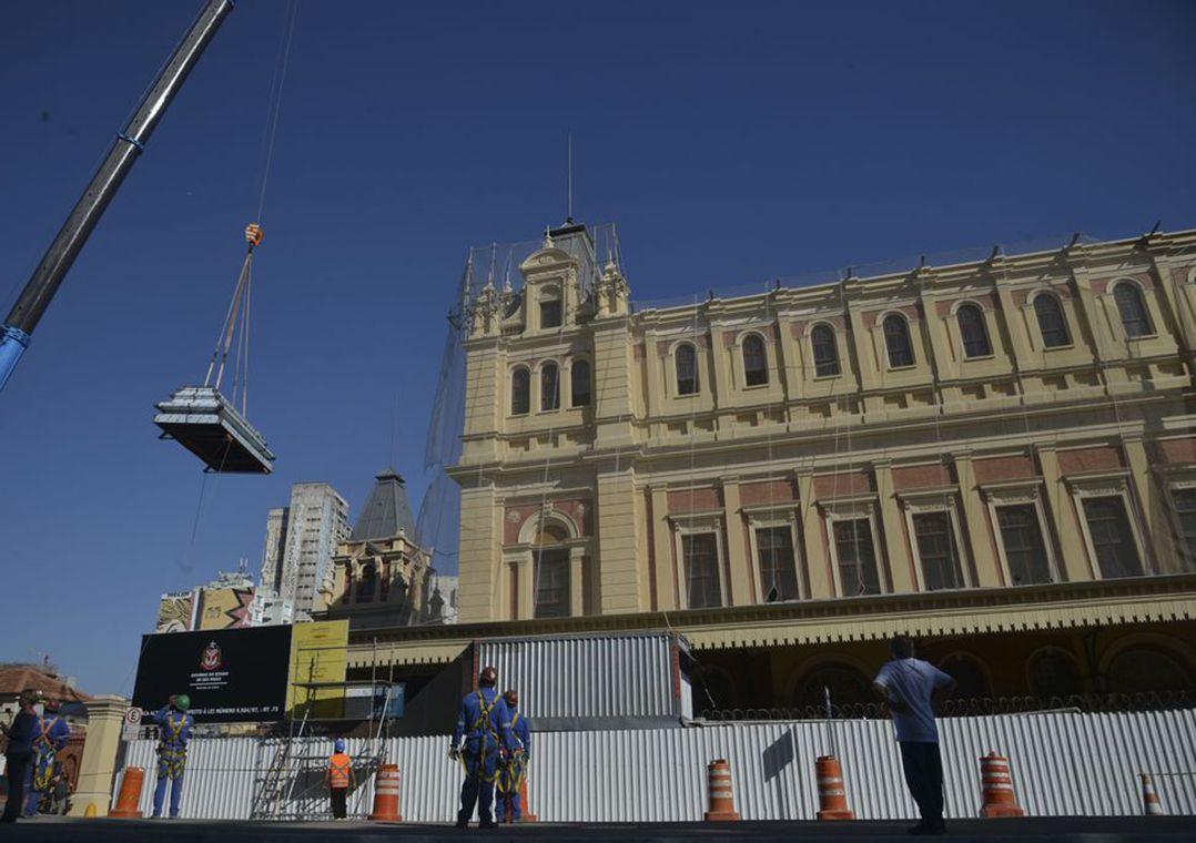 SP: Museu da Língua Portuguesa ressurge aos poucos
