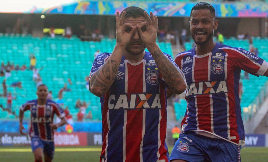 Bahia goleia o 'freguês' Vitória e deixa a zona de rebaixamento