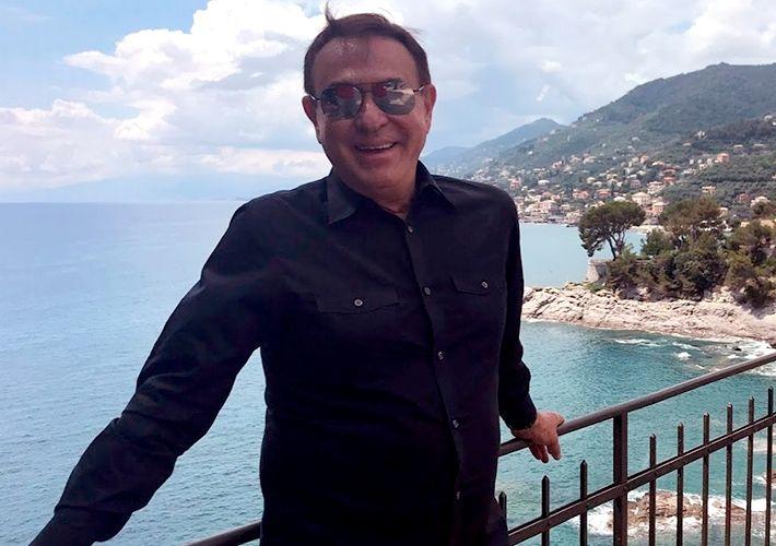 Amaury Jr. embarca em viagem especial para a Itália