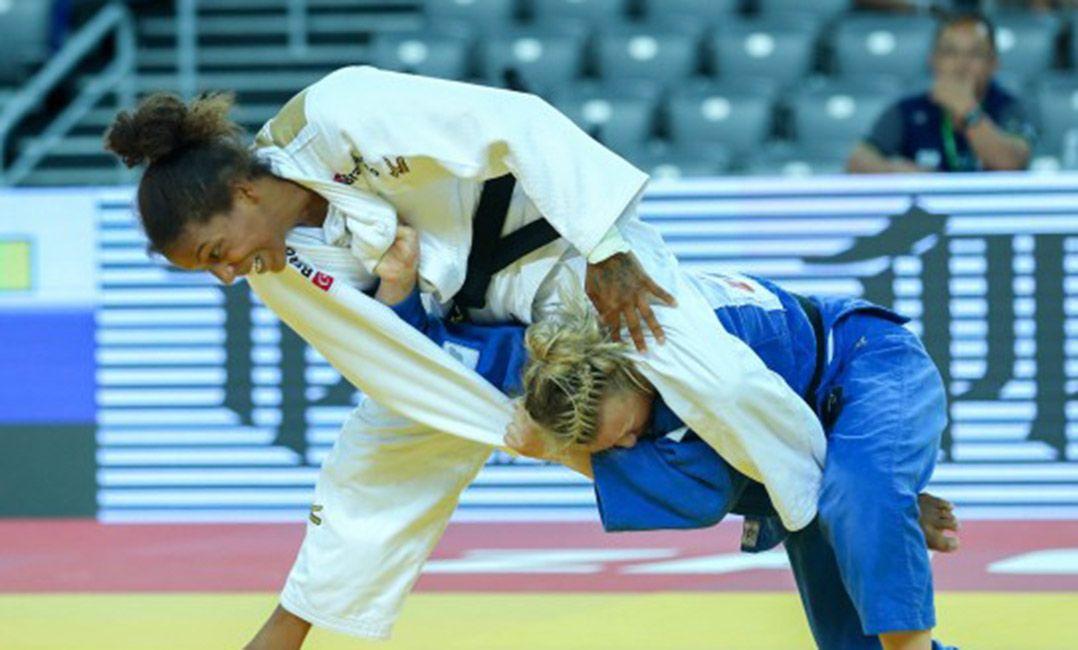 Rafaela Silva é eliminada por canadense na estreia no Mundial de Judô