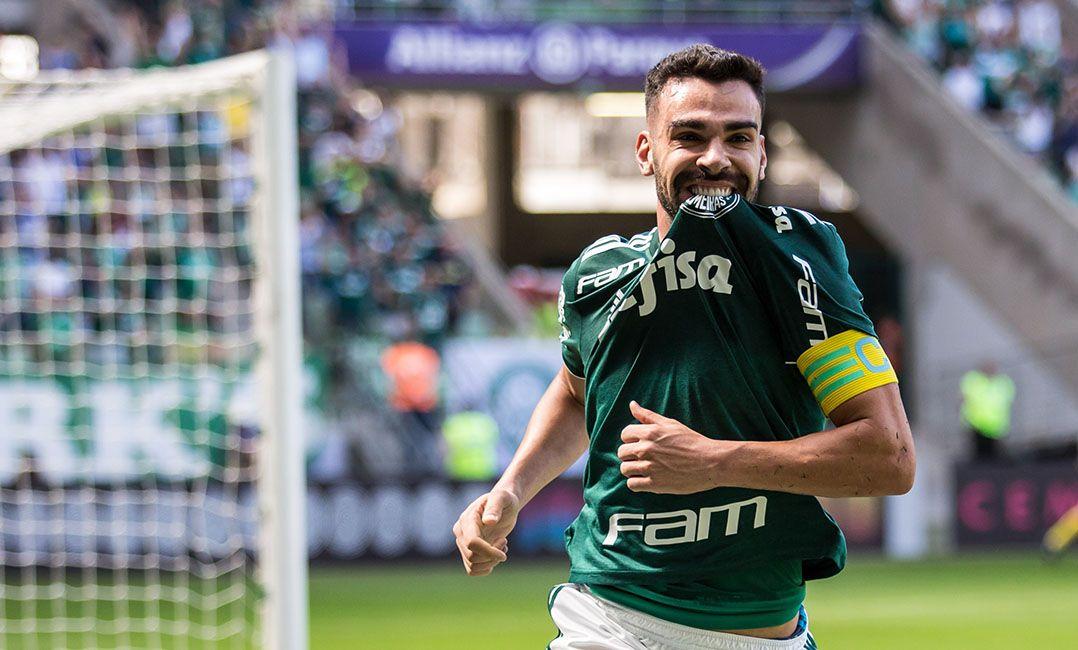 Bruno Henrique foi um dos destaques do Palmeiras no Brasileirão de 2018  (Foto  Gil Guzzo O Fotografico Estadão Conteúdo) 0f8ac3f620443