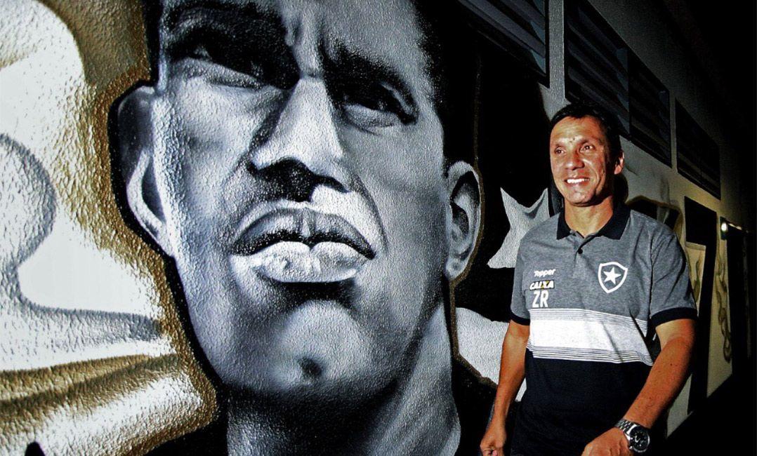 Zé Ricardo exalta Botafogo  mundialmente conhecido  e minimiza passado em  rivais 5fd4044fe7c4b