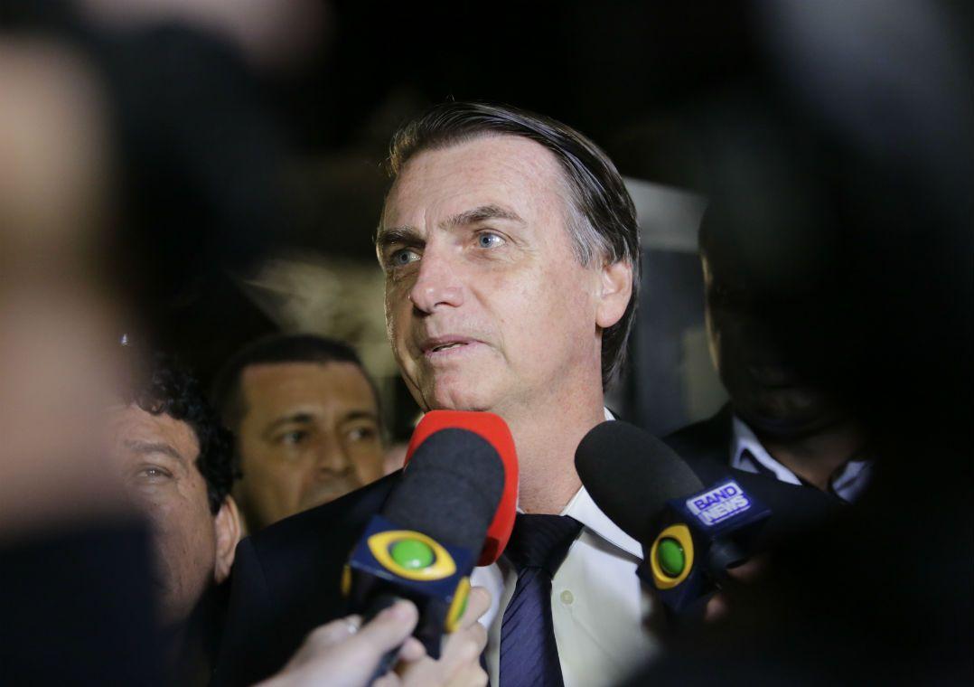 Se eu for presidente, saio da ONU, diz Bolsonaro