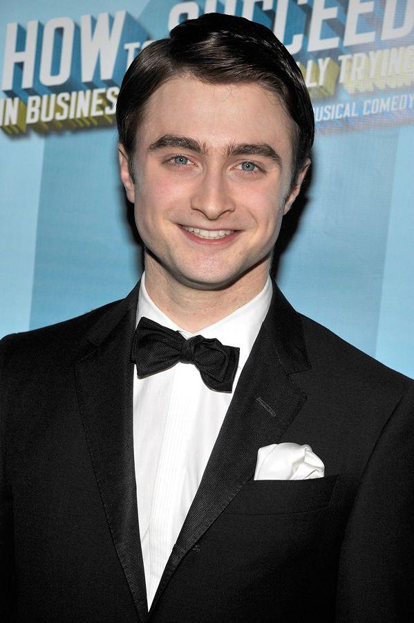 Daniel Radcliffe na estreia de musical