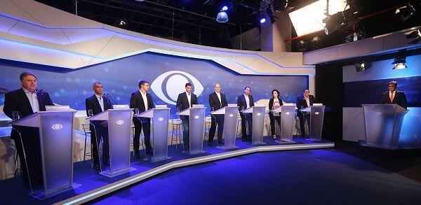 Debate com os candidatos ao Governo do Estado: veja como foi