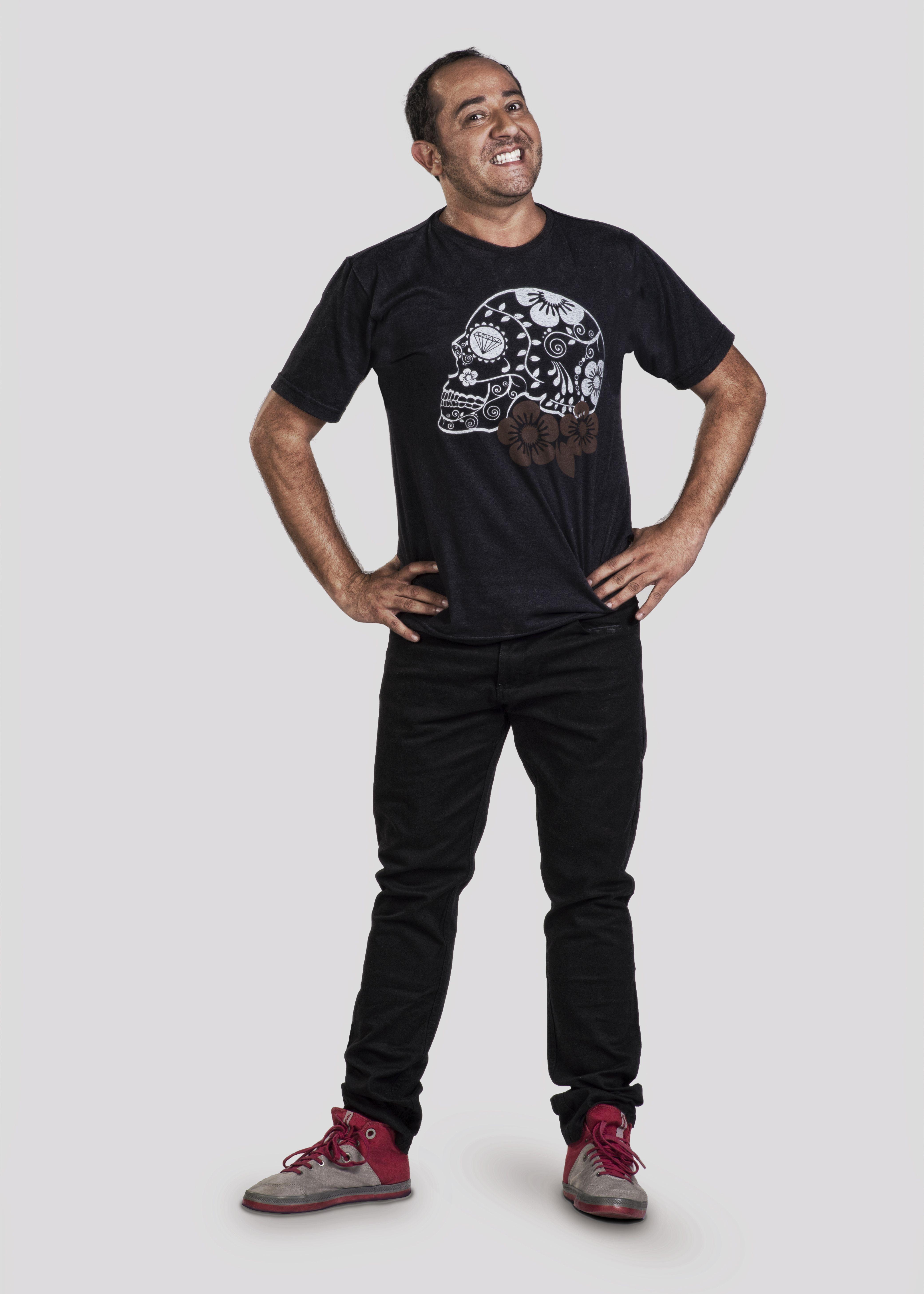 Diego Becker é Paula Ayala no programa Melhor da Tarde / Divulgação