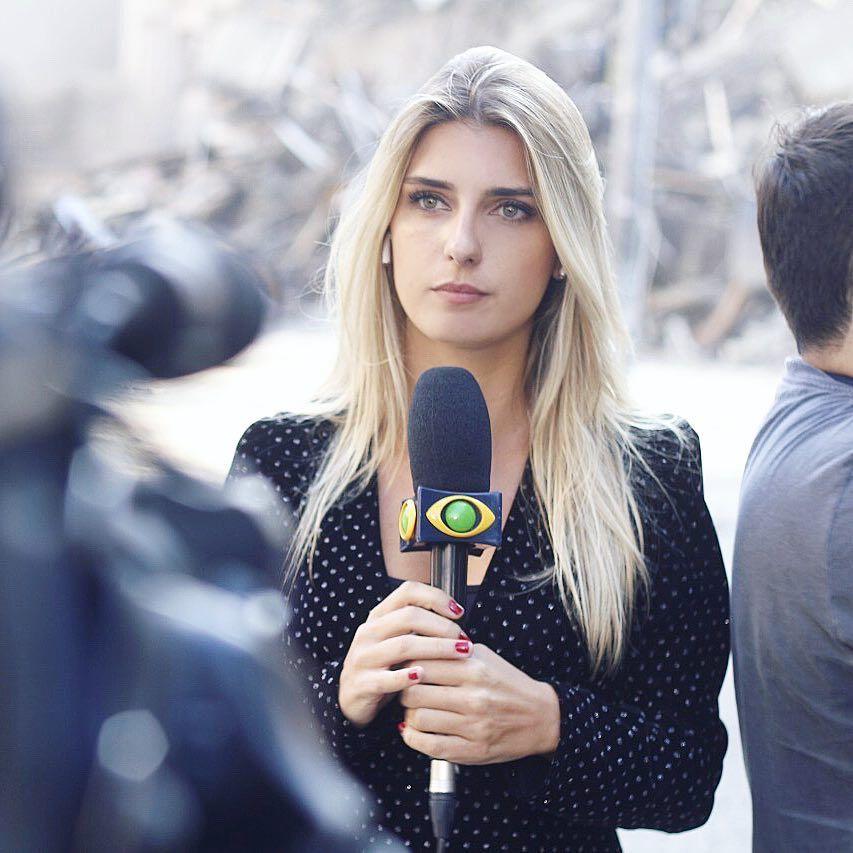 Joana Treptow é uma das apresentadoras do Café com Jornal / Divulgação