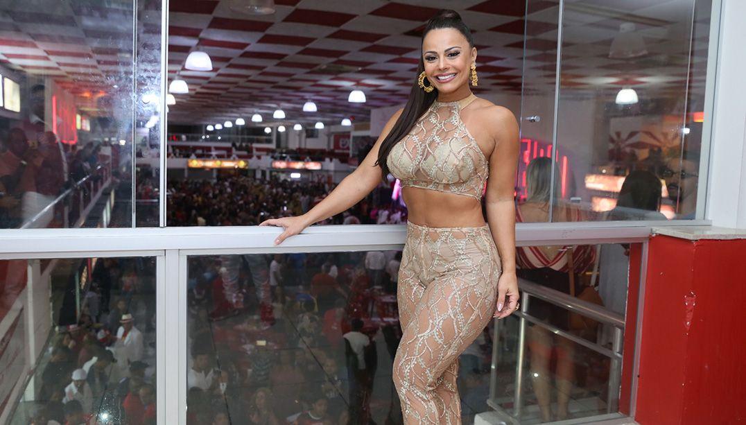 Salgueiro nega que irá substituir Viviane Araújo por Anitta