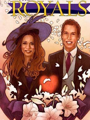 História do casal real vai parar nos quadrinhos / Foto: Reprodução