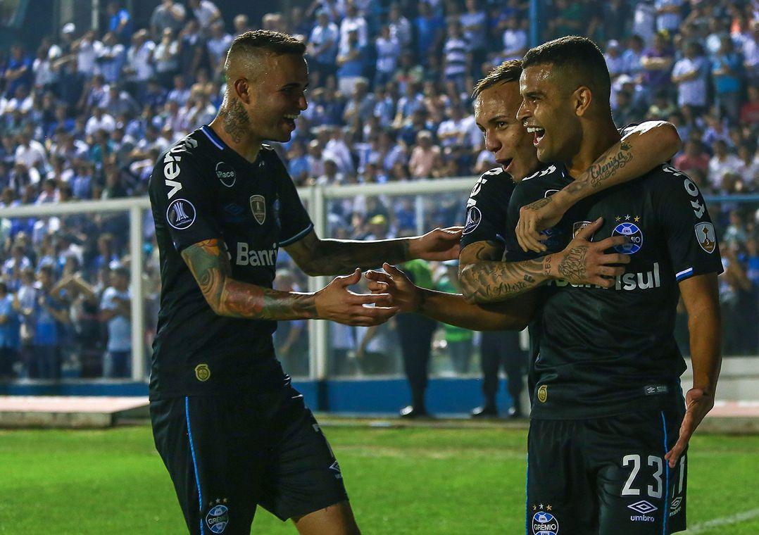 3c2c83c57d Grêmio poderá até perder por um gol de diferença no jogo de volta (Foto   Lucas Uebel Grêmio FBPA)