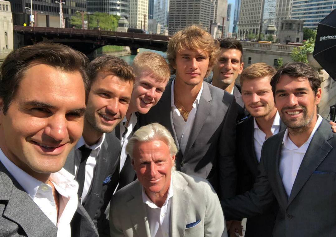 Federer afirma querer fazer dupla com Djokovic na Laver Cup