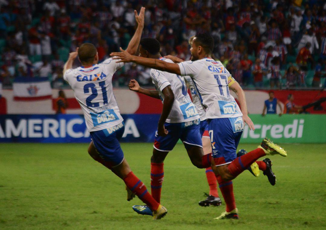Bahia vence Botafogo em casa e abre vantagem na Sul-Americana