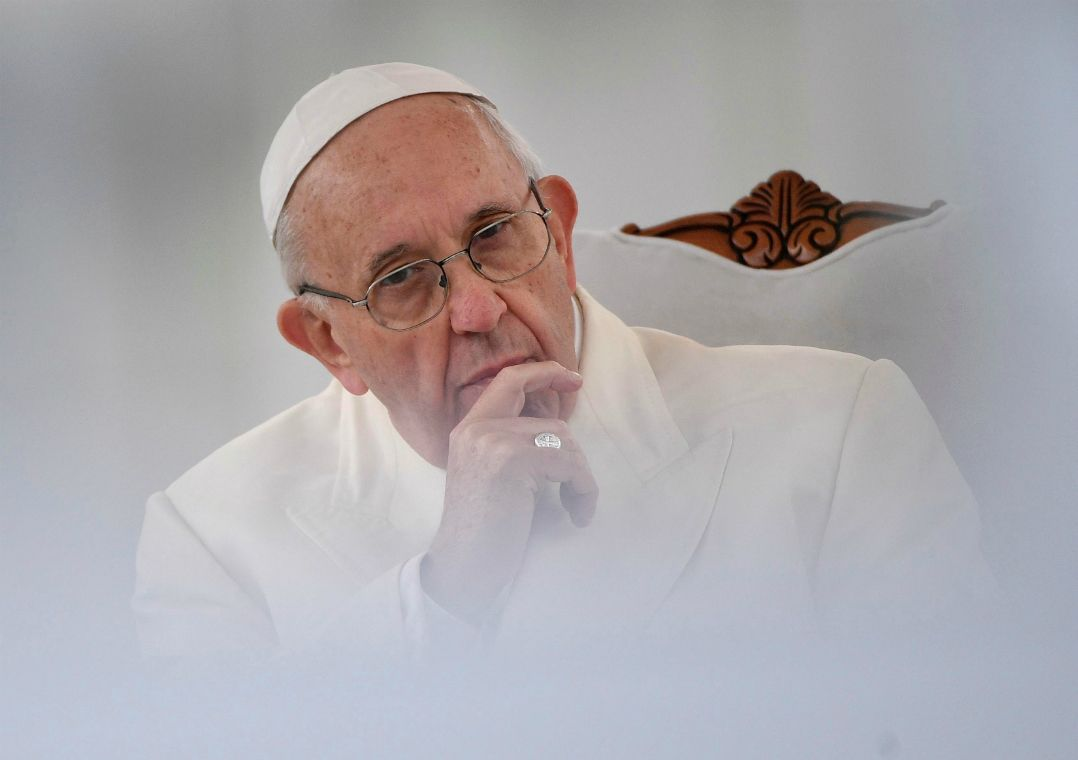 É necessário agir contra qualquer sopro de antissemitismo, diz papa