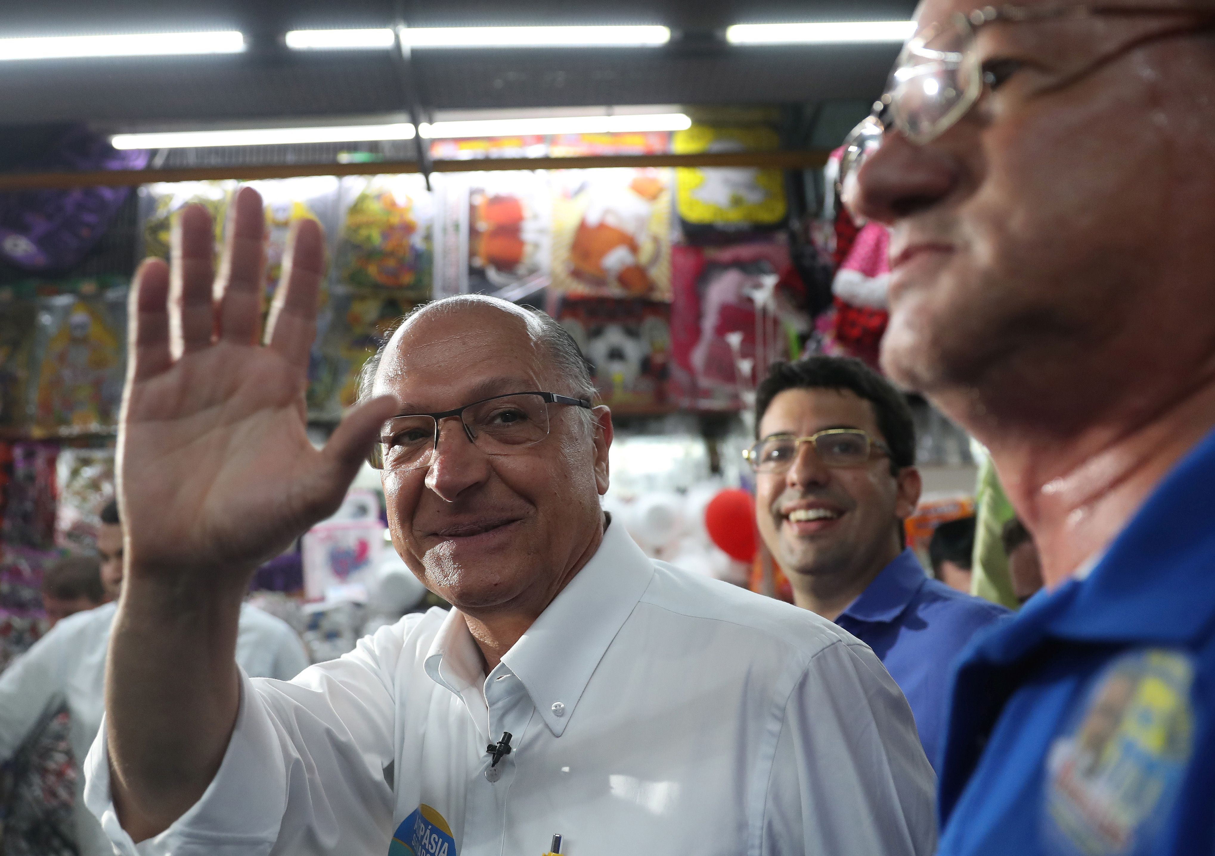 Alckmin diz que eleitor deve optar por voto útil na reta final