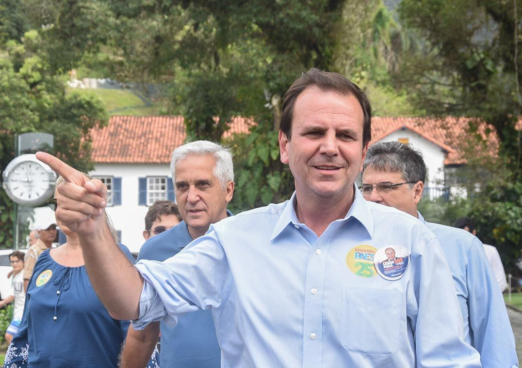 Ibope: Eduardo Paes segue liderando corrida à Prefeitura do Rio de Janeiro