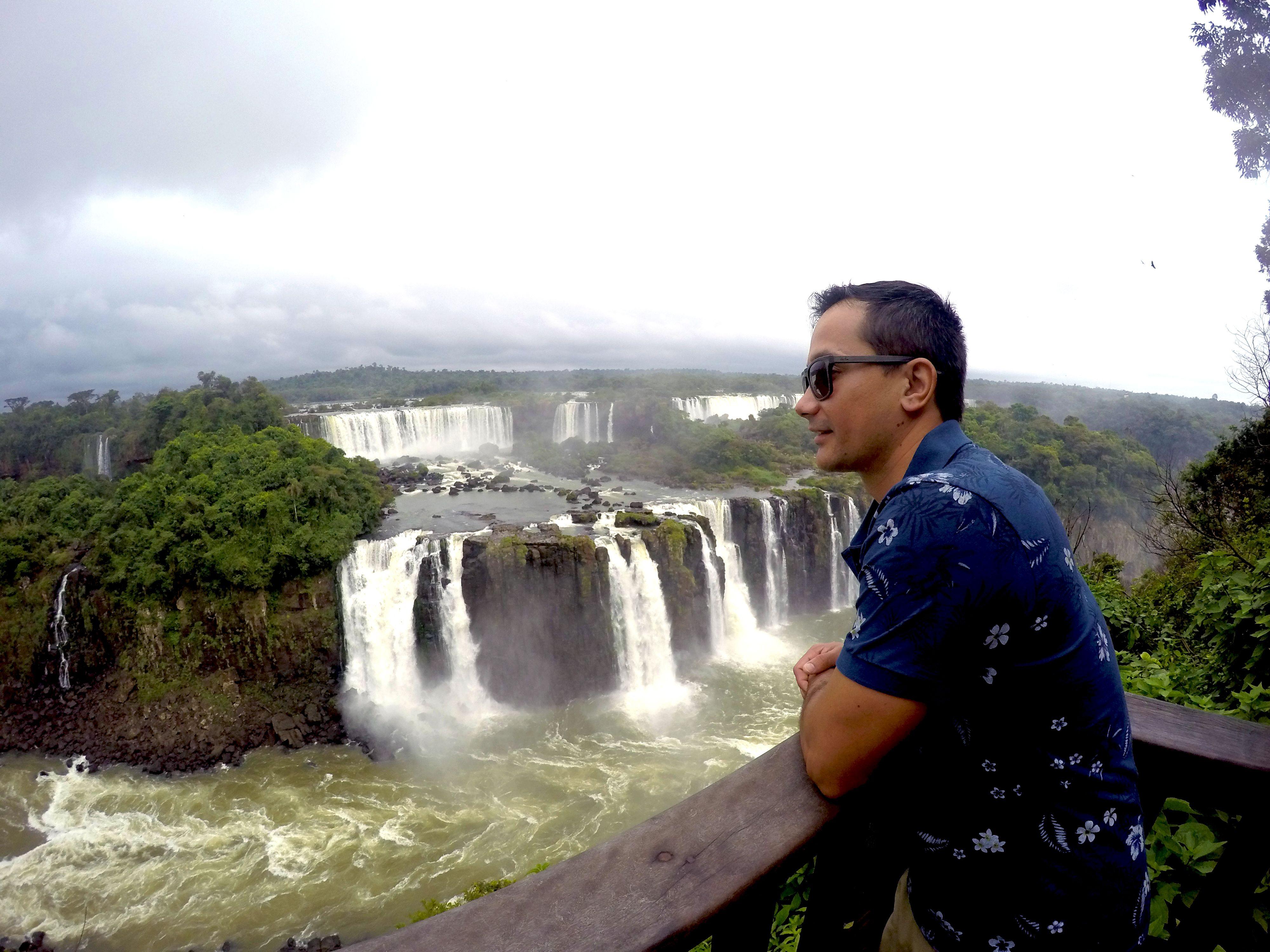 Rodrigo Ruas na Foz do Iguaçu / Divulgação