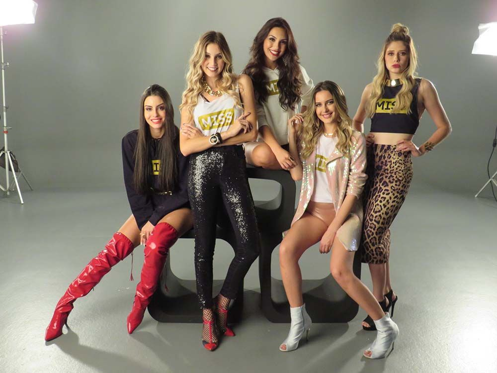 As cinco Super Finalistas / Divulgação
