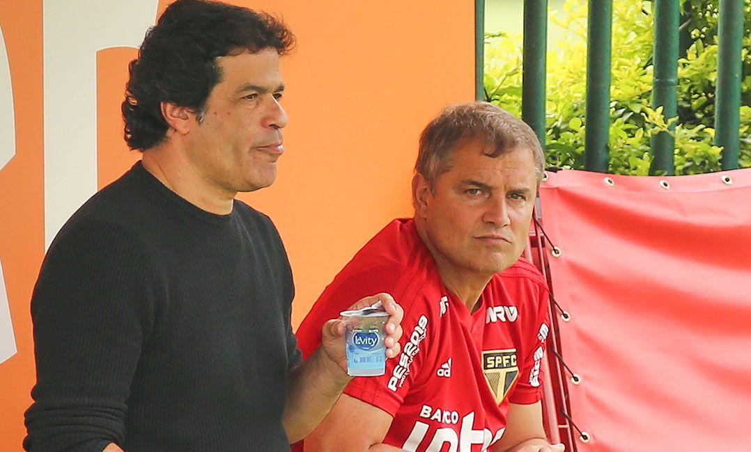 Raí banca Aguirre no São Paulo e despista sobre objetivo no Brasileiro