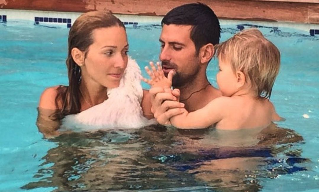 Djokovic acredita que a família é a chave do sucesso em busca do topo