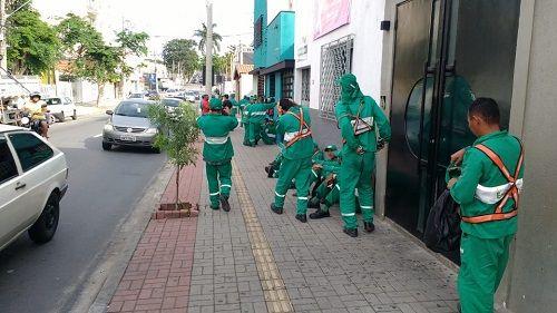 Funcionários da EcoTaubaté continuam em greve pelo segundo dia