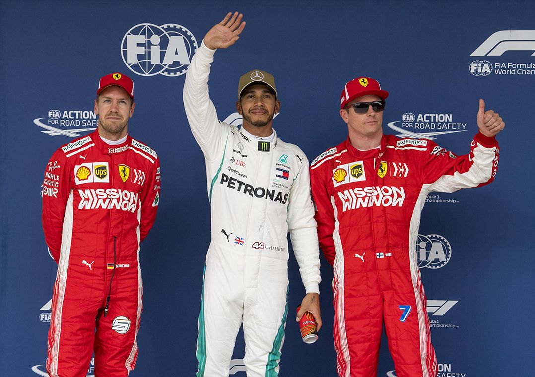 Perto do penta, Hamilton faz a pole no GP dos EUA