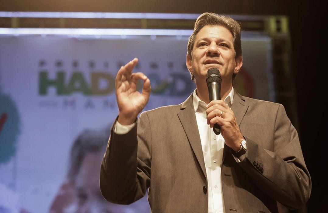 Haddad admite que houve crimes durante governos petistas
