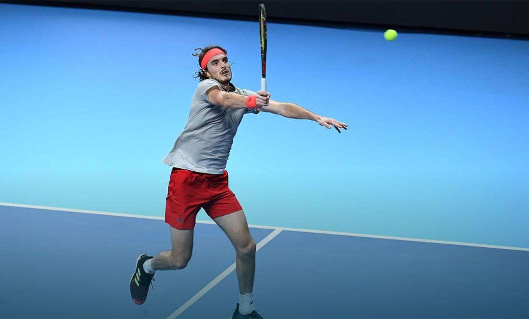 d930ee78c4f Tsitsipas é um dos principais nomes do torneio (Foto  Peter Staples ATP  World Tour)