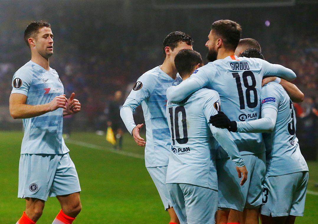 Europa League: 7 CLB sớm đoạt vé dự vòng 1/16