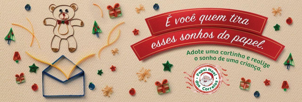 Campanha Papai Noel dos Correios está disponível para adoção on-line