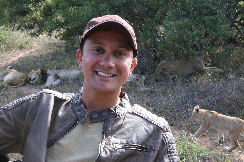 Rodrigo Ruas visita a África do Sul