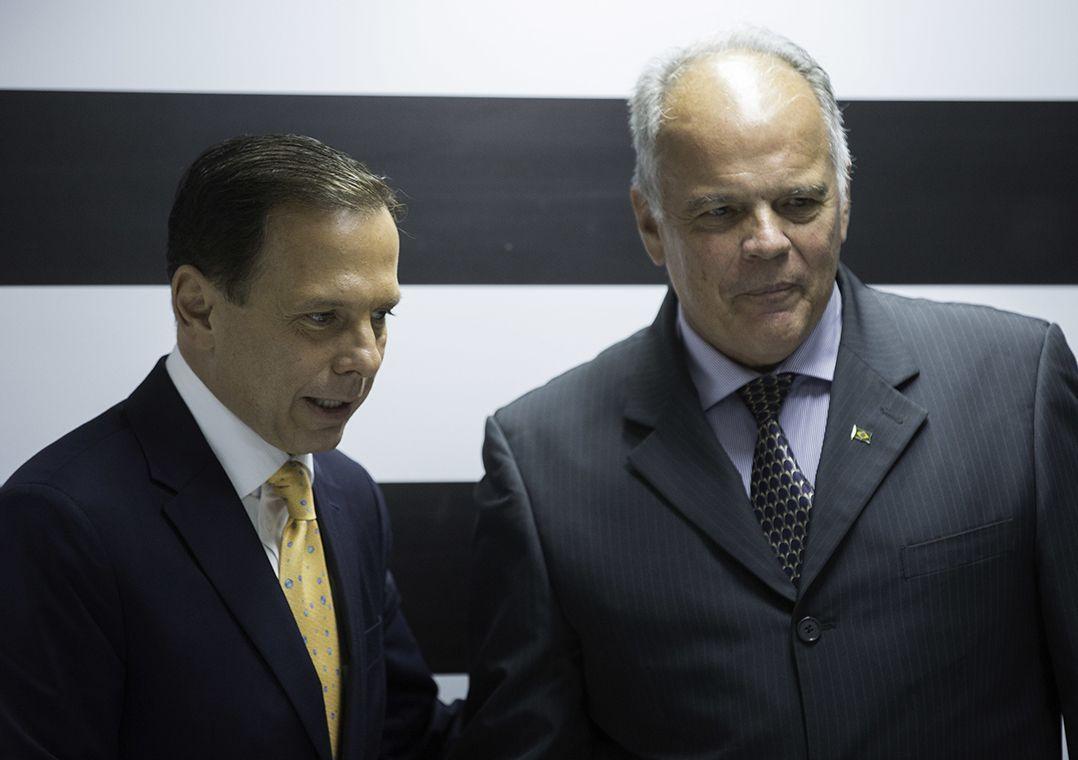 Delegados sugerem a general de Doria uma polícia de Estado