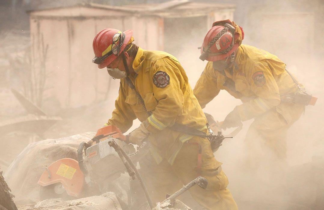 Guarda Nacional auxiliará busca de vítimas de incêndio na Califórnia